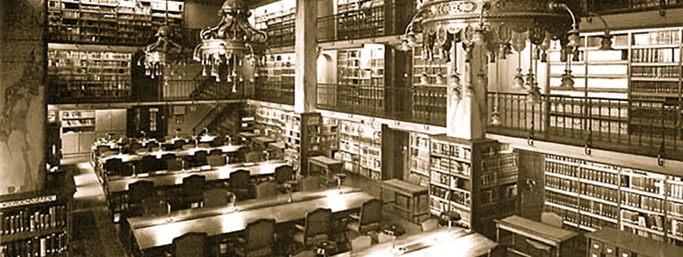 SlimBoek cultureel erfgoed. Koninlijke Bibliotheek Den Haag, Oude Zaal