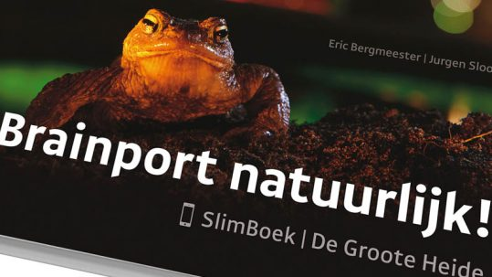 Thema van de boekenweek is natuur, SlimBoek door Eric Bergmeester Photography