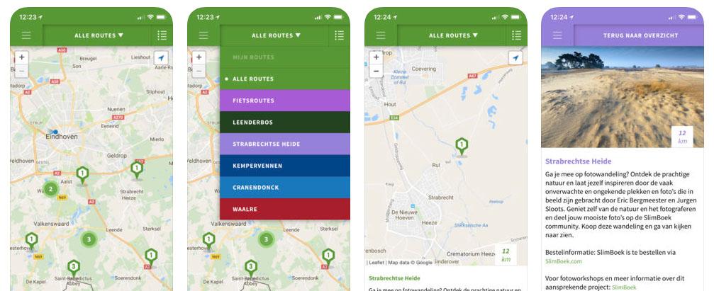 Ons Bos-app is opgevolgd door Hidden Tracks